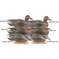 Greenhead Gear GHG Pro Grade Mallard Duck Decoys Early Season Hen (6шт)