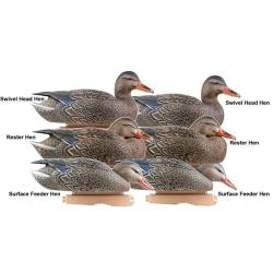 Greenhead Gear GHG Pro Grade Mallard Duck Decoys Early Season Hen (6шт)
